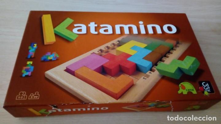 JUEGO DE MESA KATAMINO ROMPECABEZAS INTELIGENTE. GIGAMIC 2002 HECHO EN FRANCIA (Toys - Games - Board Games)