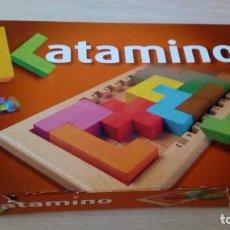 Juegos de mesa: JUEGO DE MESA KATAMINO ROMPECABEZAS INTELIGENTE. GIGAMIC 2002 HECHO EN FRANCIA. Lote 147778598