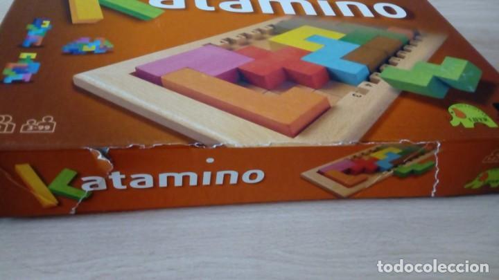 Board Games: Juego de mesa KATAMINO rompecabezas inteligente. GIGAMIC 2002 Hecho en Francia - Foto 2 - 147778598