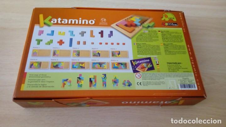 Board Games: Juego de mesa KATAMINO rompecabezas inteligente. GIGAMIC 2002 Hecho en Francia - Foto 3 - 147778598