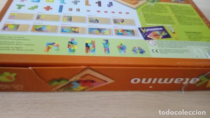 Board Games: Juego de mesa KATAMINO rompecabezas inteligente. GIGAMIC 2002 Hecho en Francia - Foto 4 - 147778598