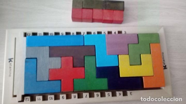 Board Games: Juego de mesa KATAMINO rompecabezas inteligente. GIGAMIC 2002 Hecho en Francia - Foto 6 - 147778598