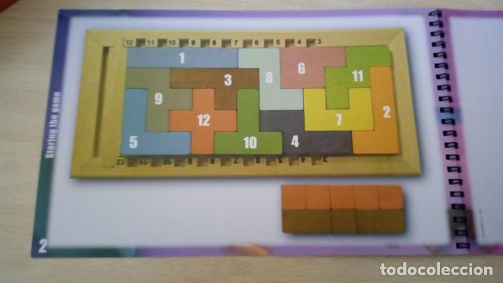 Board Games: Juego de mesa KATAMINO rompecabezas inteligente. GIGAMIC 2002 Hecho en Francia - Foto 7 - 147778598