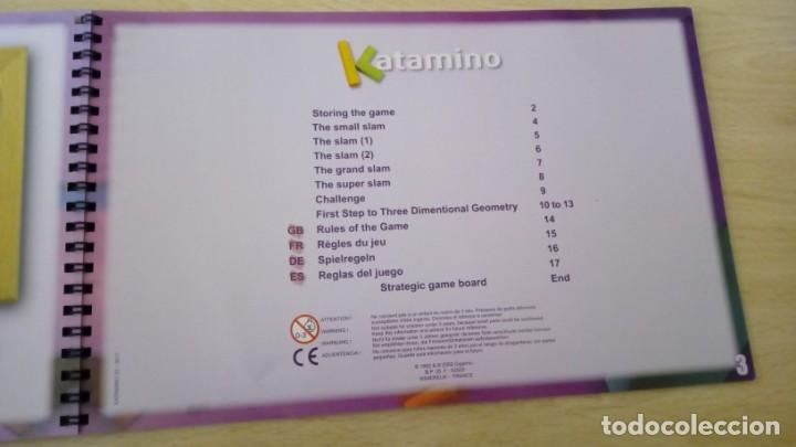 Board Games: Juego de mesa KATAMINO rompecabezas inteligente. GIGAMIC 2002 Hecho en Francia - Foto 8 - 147778598