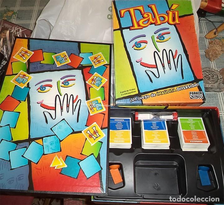 JUEGO TABU DE PARKER (Juguetes - Juegos - Juegos de Mesa)