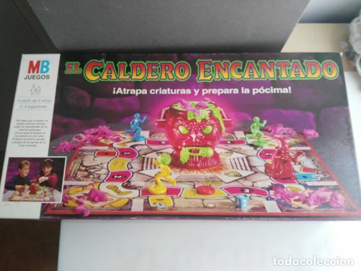 ANTIGUO JUEGO DE MESA DE MB EL CALDERO ENCANTADO (Juguetes - Juegos - Juegos de Mesa)