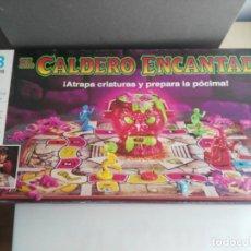 Juegos de mesa: ANTIGUO JUEGO DE MESA DE MB EL CALDERO ENCANTADO. Lote 234444050