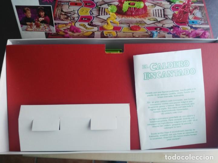 Juegos de mesa: ANTIGUO JUEGO DE MESA DE MB EL CALDERO ENCANTADO - Foto 3 - 234444050