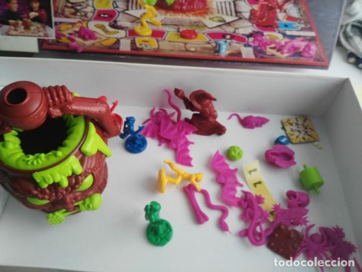 Juegos de mesa: ANTIGUO JUEGO DE MESA DE MB EL CALDERO ENCANTADO - Foto 5 - 234444050