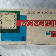 Juegos de mesa: JUEGO DEL MONOPOLY BORRÀS CON REFERENCIA 6300/M- AÑOS 60. Lote 147863978