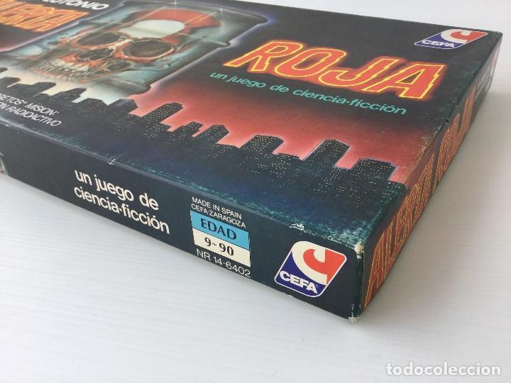 Juegos de mesa: Juego Alerta Roja de CEFA – Años 80 – CELULOSA FABRIL - Foto 3 - 147914874