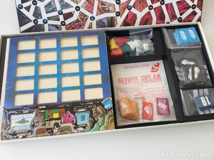 Juegos de mesa: Juego Alerta Roja de CEFA – Años 80 – CELULOSA FABRIL - Foto 6 - 147914874