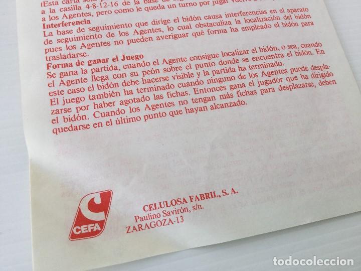 Juegos de mesa: Juego Alerta Roja de CEFA – Años 80 – CELULOSA FABRIL - Foto 11 - 147914874