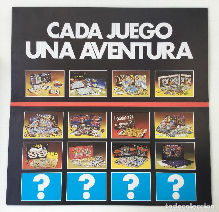Juegos de mesa: Juego Alerta Roja de CEFA – Años 80 – CELULOSA FABRIL - Foto 14 - 147914874