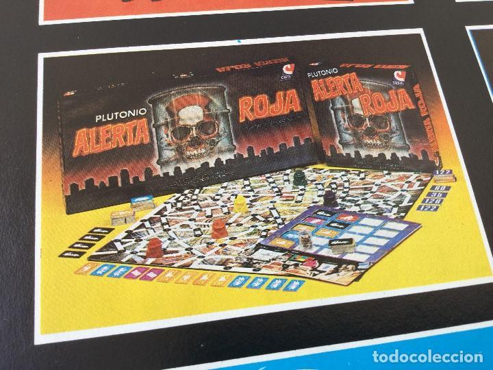 Juegos de mesa: Juego Alerta Roja de CEFA – Años 80 – CELULOSA FABRIL - Foto 15 - 147914874