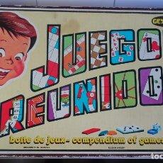 Juegos de mesa: ANTIGUO JUEGO , JUEGOS REUNIDOS GEYPER, EN CAJA ORIGINAL , VER FOTOS. Lote 148045138