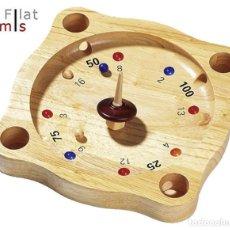 Juegos de mesa: SUPER RULETA - FRANCESA - MADERA DE FRESNO. Lote 148053546
