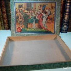 Juegos de mesa: BONITA Y ANTIGUA CAJA DE MAGIA Nº1 - CAJA VACÍA - . Lote 148082826