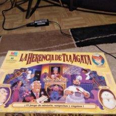 Juegos de mesa: JUEGO LA HERENCIA DE TIA AGATA 1996. Lote 148084470