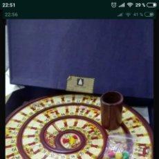 Juegos de mesa: JUEGO DE LA OCA TABLERO MADERA EDICION COLECCIONISTAS. Lote 148101577