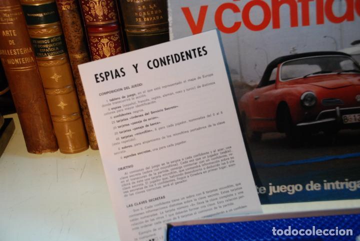 Juegos de mesa: JUEGO DE MESA ESPÍAS Y CONFIDENTES !! - BORRAS - APASIONANTE JUEGO DE INTRIGA Y ACCIÓN - 2-6 JUG. - - Foto 3 - 148141134