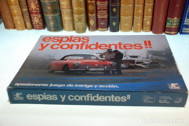 Juegos de mesa: JUEGO DE MESA ESPÍAS Y CONFIDENTES !! - BORRAS - APASIONANTE JUEGO DE INTRIGA Y ACCIÓN - 2-6 JUG. - - Foto 6 - 148141134