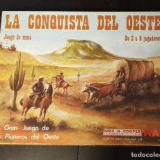 Juegos de mesa: LA CONQUISTA DEL OESTE (NAC) EN MUY BUEN ESTADO. Lote 148194866