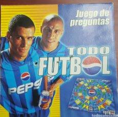 Juegos de mesa: TODO FÚTBOL DE PEPSI - RIVALDO Y ROBERTO CARLOS. JUEGO DE PREGUNTAS. - ARM01. Lote 148233146