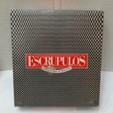 Juegos de mesa: ESCRUPULOS. JUEGO DE MESA. MB. 1986. NUEVO. INTERIOR PRECINTADO. COMPLETO. SIN JUGAR.. Lote 148540241