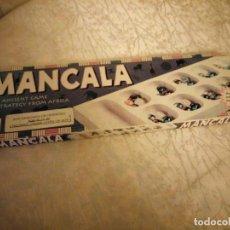 Juegos de mesa: ANTIGUO JUEGO DE MESA MANCALA JUEGO AFRICANO,1996. Lote 148583026