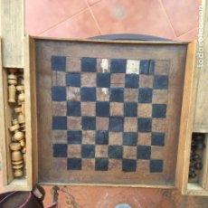 Juegos de mesa: AJEDREZ DE MADERA. Lote 148587645