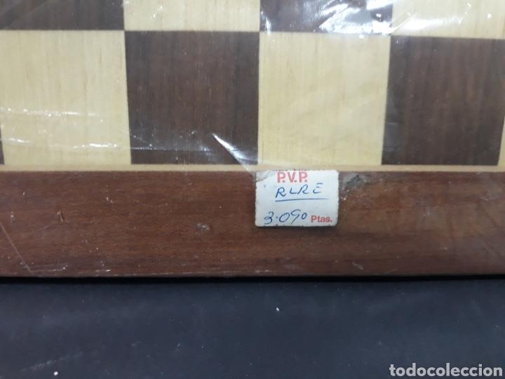 Juegos de mesa: Tablero ajedrez madera sin uso - Foto 2 - 148671642
