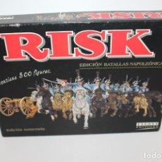 Juegos de mesa: RISK BATALLAS NAPOLEONICAS EDICIÓN NUMERADA Nº 011297 - AÑO 2002. Lote 148750422