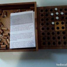 Juegos de mesa: JUEGO OTHELLO DE MADERA 13.5 CM X 13.5 CM X 3 CM. Lote 148781698
