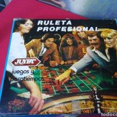 Juegos de mesa: ANTIGUO JUEGO DE LA RULETA. Lote 148790852