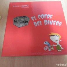 Juegos de mesa: EL COFRE DEL DINERO. BANCO DE ESPAÑA 2011 - SIN USAR. Lote 148835322