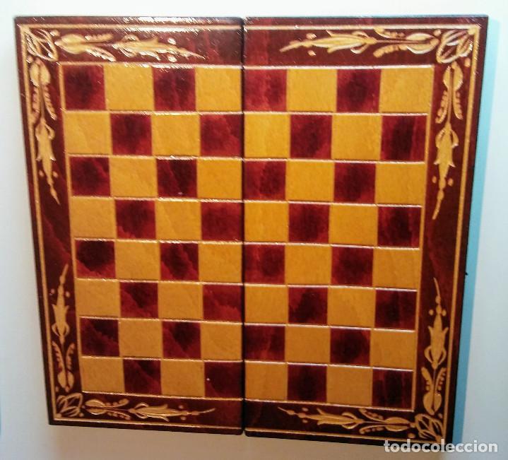 Juegos de mesa: AJEDREZ EN PRECIOSO MALETIN DE MADERA VINTAGE - Foto 2 - 148856686