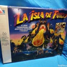 Juegos de mesa: JUEGO LA ISLA DE FUEGO MB 1987 INCOMPLETO. Lote 149396861