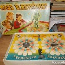 Juegos de mesa: EL MARAVILLOSO MAGO ELECTRÓNICO. CELULOSA FABRIL. 1ª EDICIÓN AÑOS 50.TODO UNA PIEZA DE COLECCIONISTA. Lote 149178434