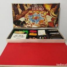 Juegos de mesa: LA RUTA DEL TESORO CAJA GRANDE ALGO INCOMPLETA. Lote 149239518