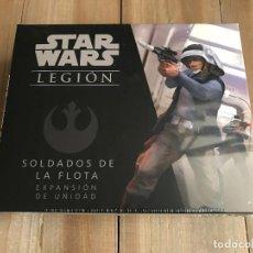 Juegos de mesa: STAR WARS LEGION - SOLDADOS DE LA FLOTA - EXPANSIÓN DE UNIDAD JUEGO MINIATURAS FFG PRECINTADO. Lote 149240106