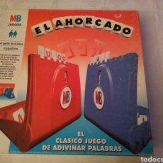 Juegos de mesa: EL AHORCADO. MB 1997. Lote 149246170