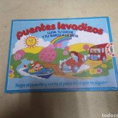 Juegos de mesa: PUENTES LEVADIZOS DE EDUCA NUEVO. Lote 149398690