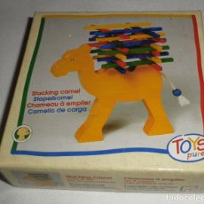 Juegos de mesa: CAMELLO DE CARGA MADERA JUEGO DE HABILIDAD. Lote 149630938