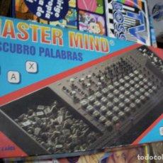 Juegos de mesa: ANTIGUO JUEGO - MASTER MIND - DESCUBRO PALABRAS. Lote 149635882