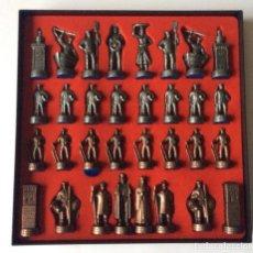 Juegos de mesa: AJEDREZ VASCO DE LA DIPUTACION PROVINCIAL DE VIZCAYA .IDEAL COLECCIONISTAS . Lote 149747198