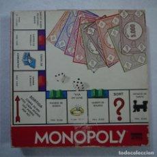Juegos de mesa: MONOPOLY CALLES DE BARCELONA EN CATALÁN - PARKER - 1982. Lote 149870798
