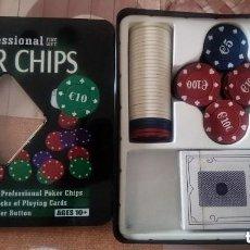 Juegos de mesa: POKER CAJA DE FICHAS. Lote 149889486