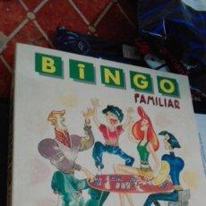 Juegos de mesa: BINGO FAMILIAR FOURNIER. Lote 149954470