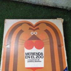 Juegos de mesa: JUEGO MERIENDA EN EL ZOO AÑOS 70. Lote 149982861